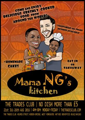 Ngombo's Kitchen