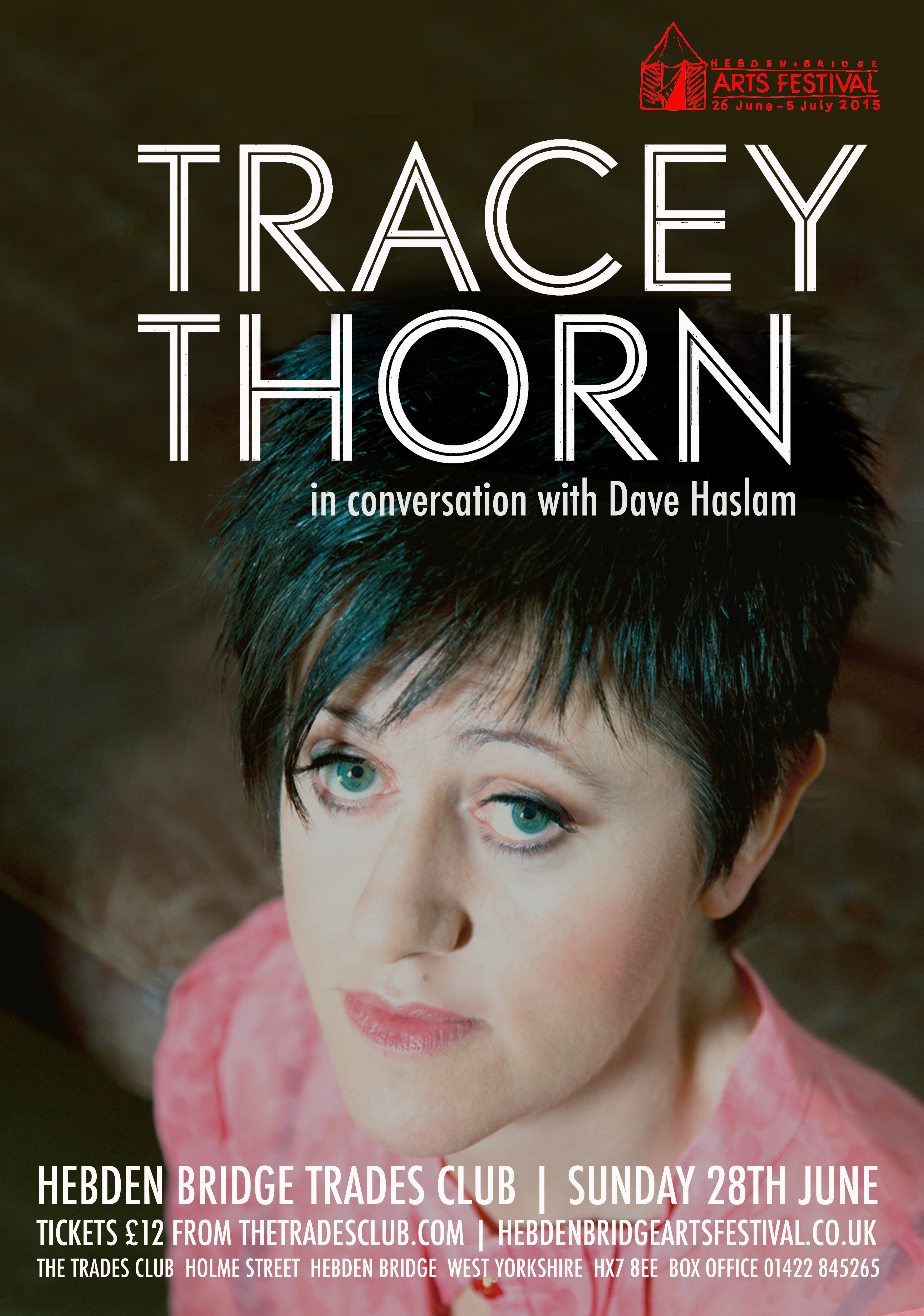 Tracey Thorn in Conversation with Dave Haslam